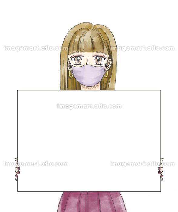 まんがタッチ女性マスクの販売画像