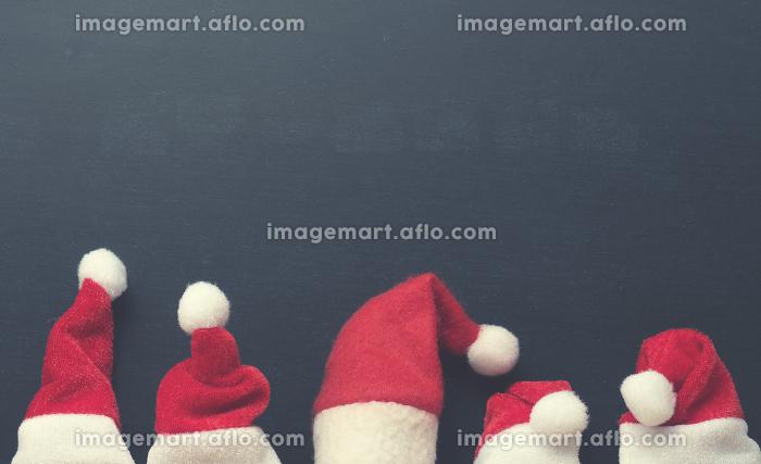 Five hat of Santaの販売画像