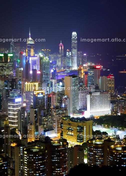 香港 青色 塔の販売画像