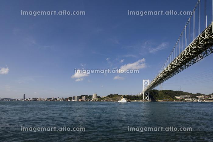 関門海峡の風景の販売画像