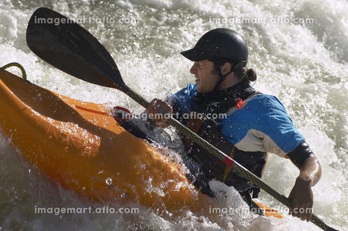 Whitewater Kayakerの販売画像