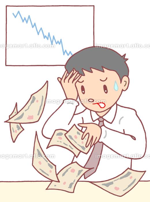 株価急落・経済失速の販売画像