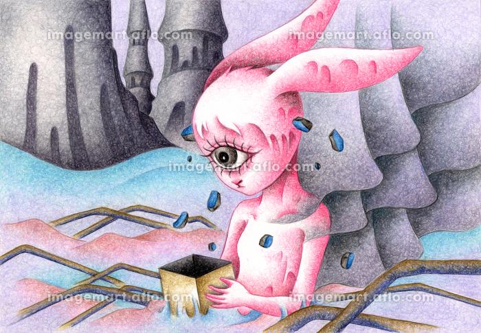 一つ目のウサギの販売画像