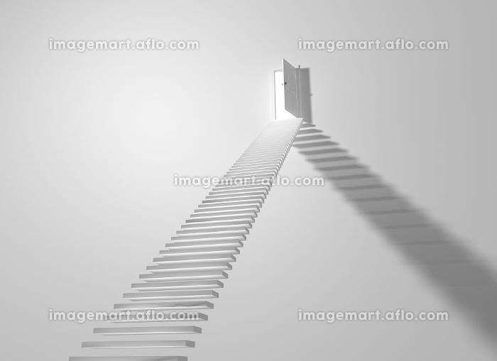 ドアと階段