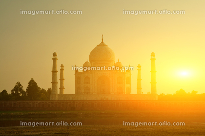 Taj Mahal sunsetの販売画像