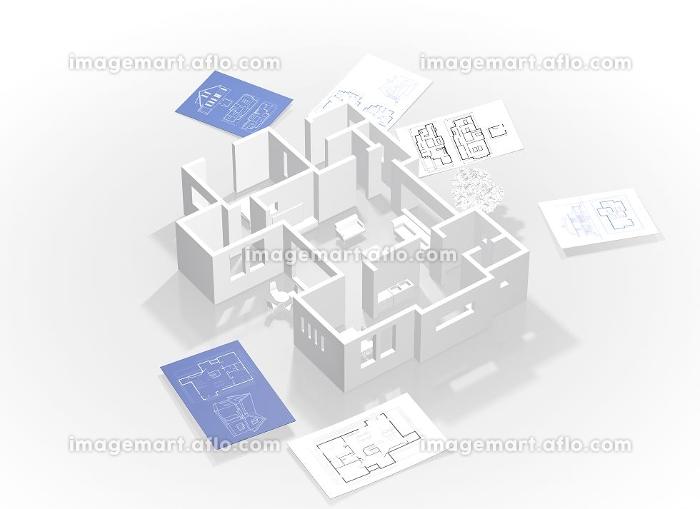 立体の平面図