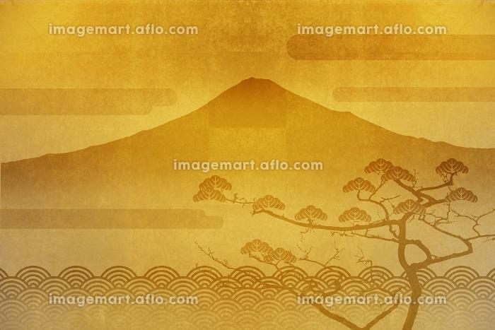 富士山と羽衣の松