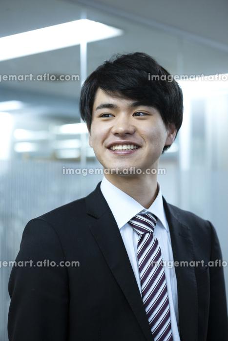 笑顔のビジネスマンの販売画像