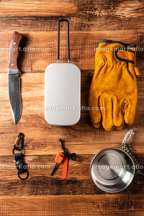 アウトドアのキャンプ用品の販売画像