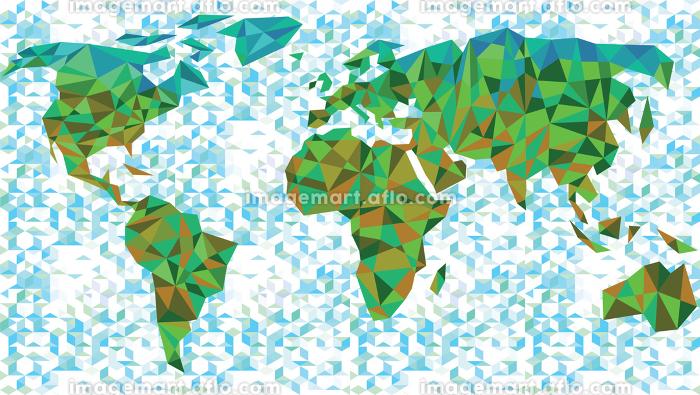 futuristic world mapの販売画像