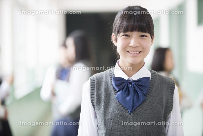 笑顔の生徒