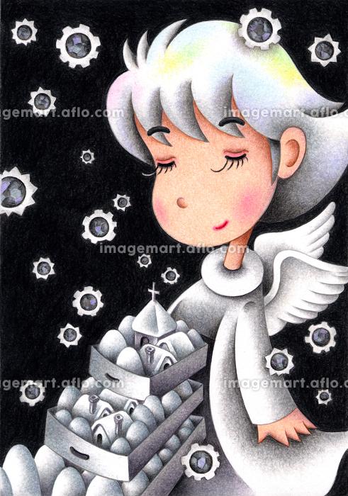 雪の天使の販売画像