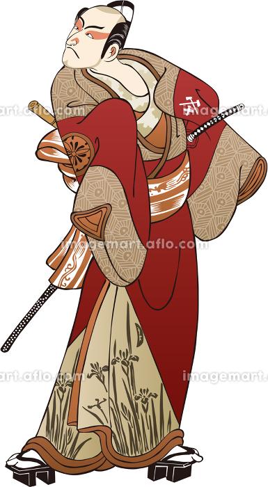 浮世絵 歌舞伎役者 その22の販売画像