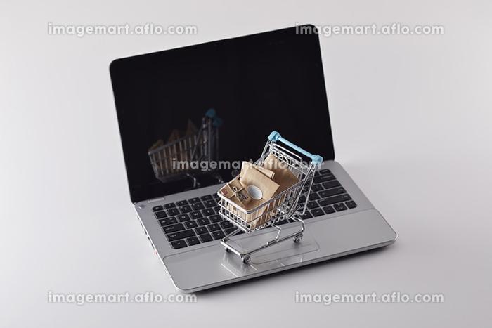 ネットショッピングのイメージの販売画像