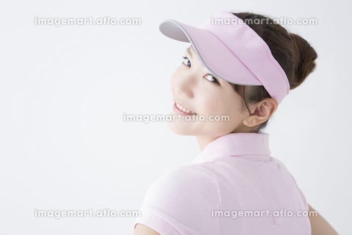 テニススタイルの女性の販売画像