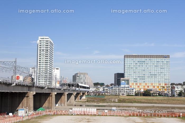 二子玉川の全景の販売画像