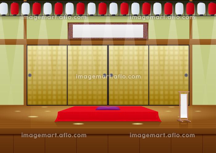 落語の舞台の販売画像