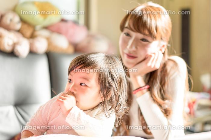 母と子供の販売画像