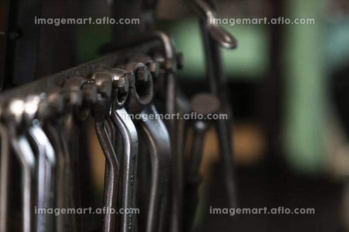 鉄工所の工具