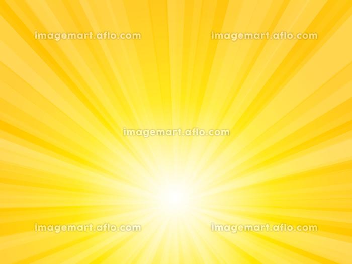 黄色 放射状 光 キラキラ 背景の販売画像