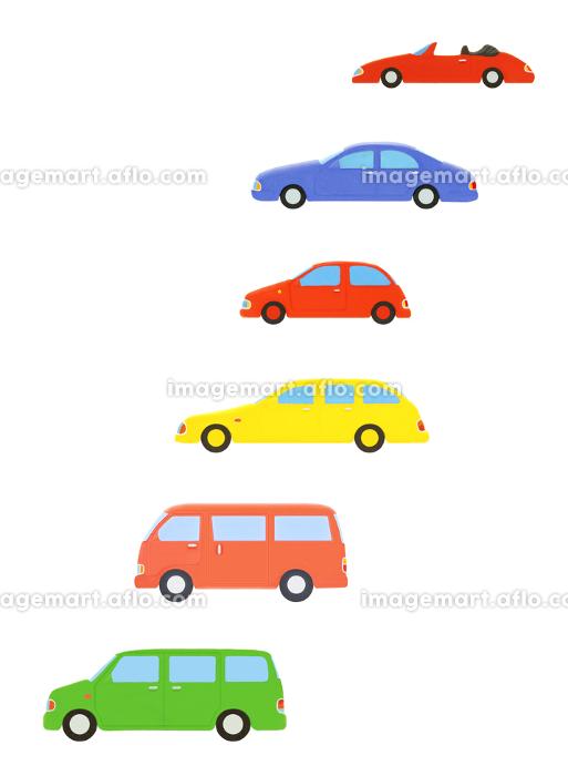6台の車の販売画像