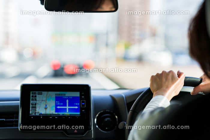 カーナビ カーオーディオを利用して運転 【カーライフ 日常】の販売画像