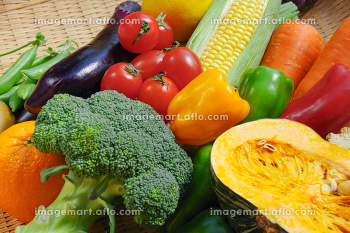 盛りだくさんの野菜 カラフルの販売画像