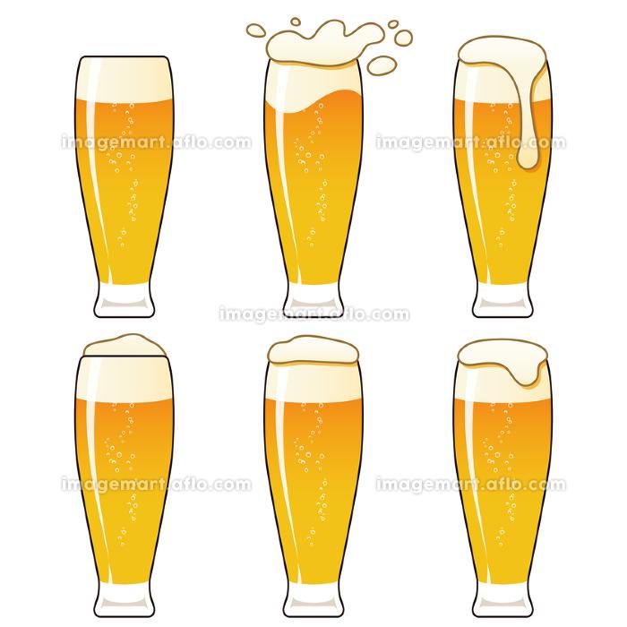 泡に動きのあるビール タンブラー 2
