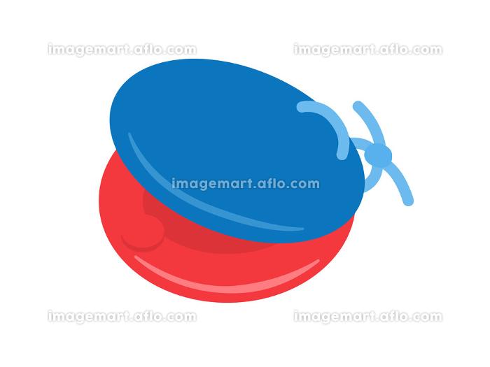 楽器のカスタネットのイラストの販売画像
