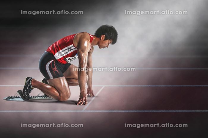 陸上競技 短距離走の販売画像