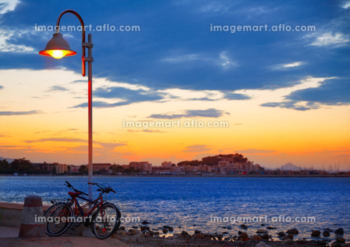 Denia sunset las Rotas in Mediterranean Spain of Alicanteの販売画像