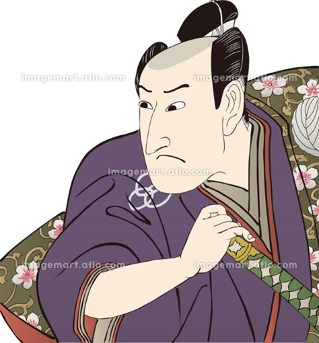 浮世絵 歌舞伎役者 その3の販売画像