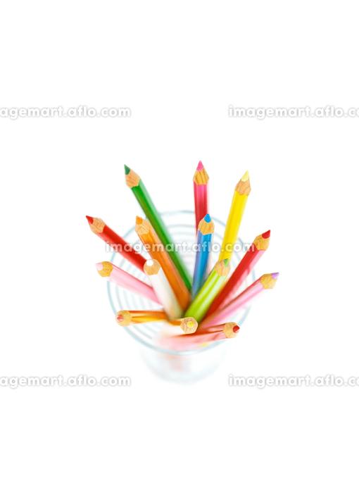 グラスの色鉛筆の販売画像
