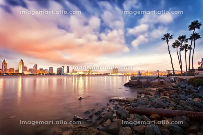 San Diego at nightの販売画像