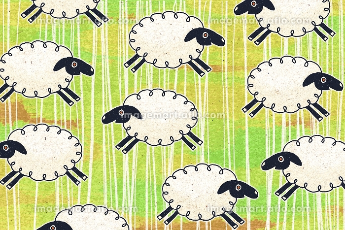 羊 イラストの販売画像