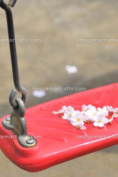 ブランコの上の花の販売画像