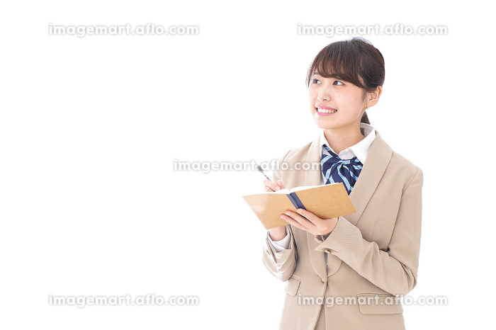 女子学生の販売画像