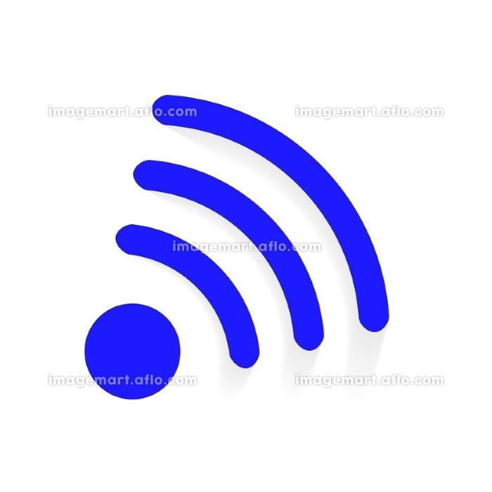 Wi-Fi Transmission of Data. Vector Illustration. EPS10. Wi-Fi Transmission of Data. Vector Illustration.の販売画像