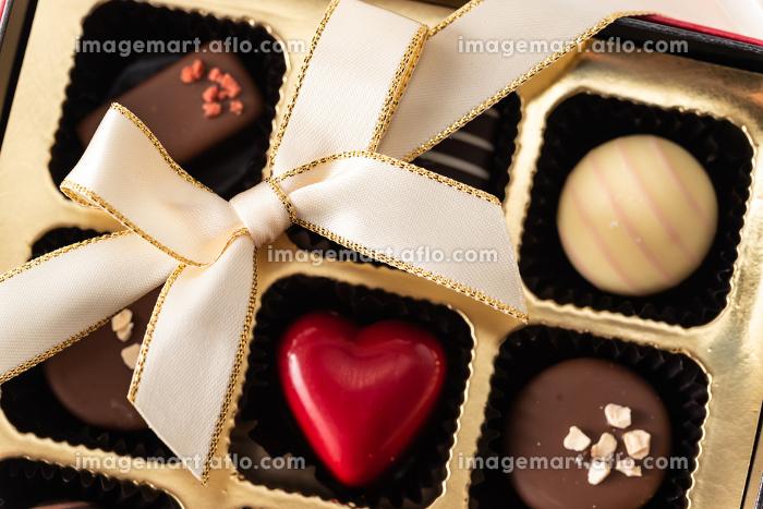 バレンタインデーのチョコレートギフトの販売画像