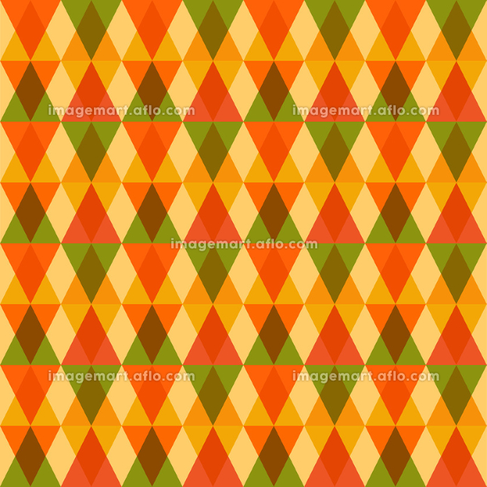 Fall season trendy triangle seamless pattern EPS10 file background.の販売画像