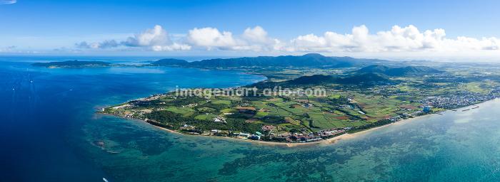 Fly over ishigaki island