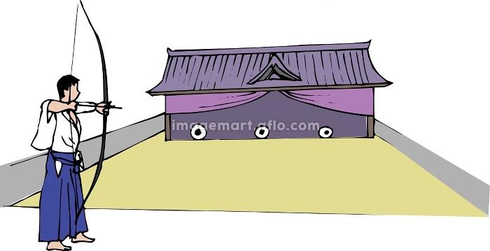 弓道場の販売画像