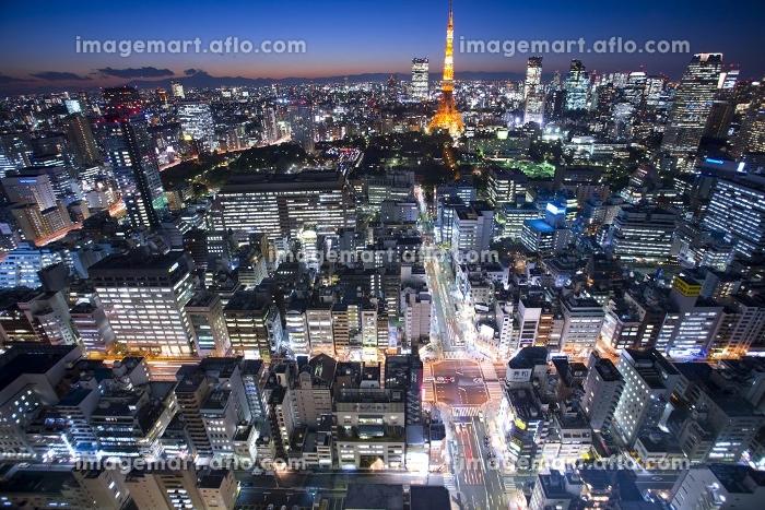 世界貿易センタービルからの夜景の販売画像