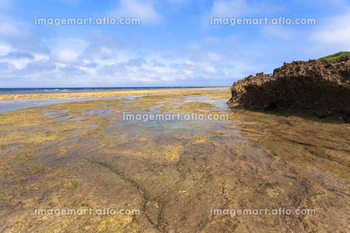日本最南端、沖縄県波照間島・3月の海の販売画像