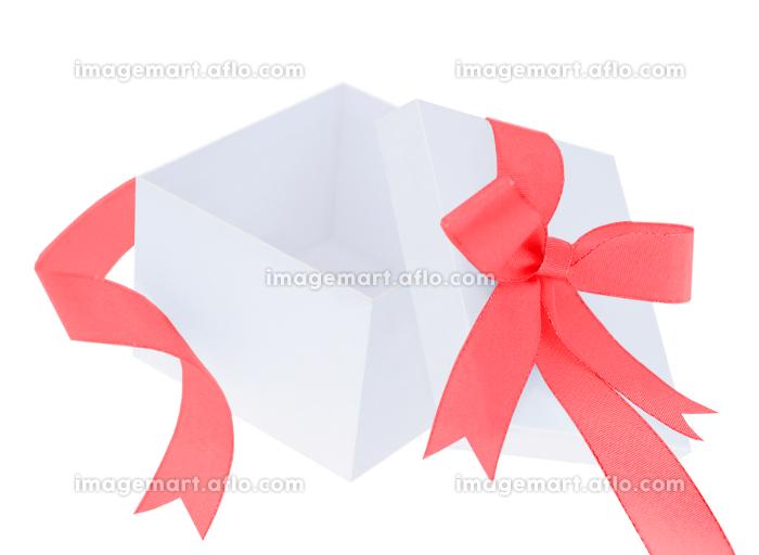 赤いリボンのプレゼントの販売画像
