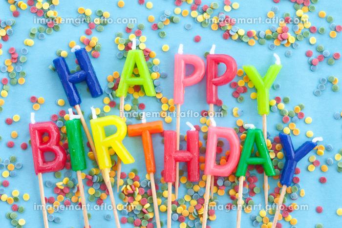 colorful candles birthdayの販売画像
