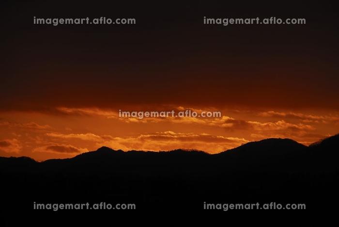 夕焼け雲の販売画像