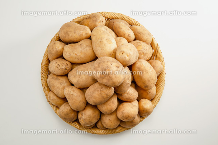 山盛りのジャガイモ