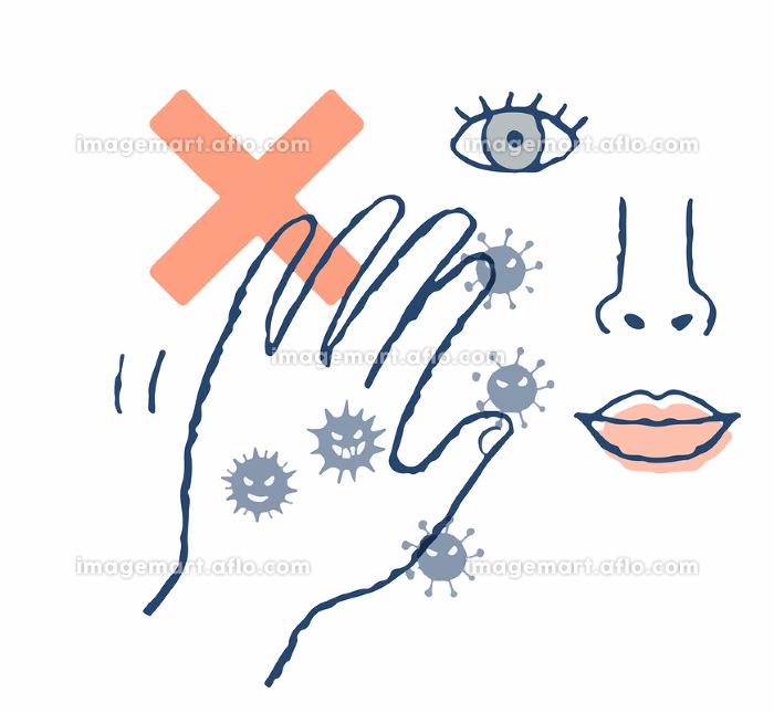 手のばい菌 感染症の販売画像