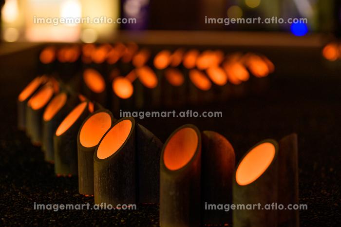 日本の灯籠の美しいお祭り関門海峡キャンドルナイト(門司港レトロ)の販売画像